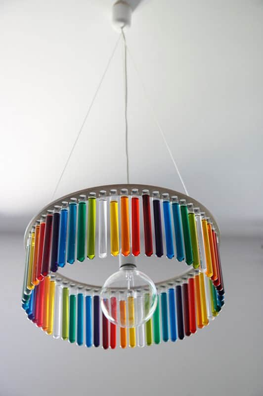 Chemistry Test Tubes Chandelier Lamps & Lights