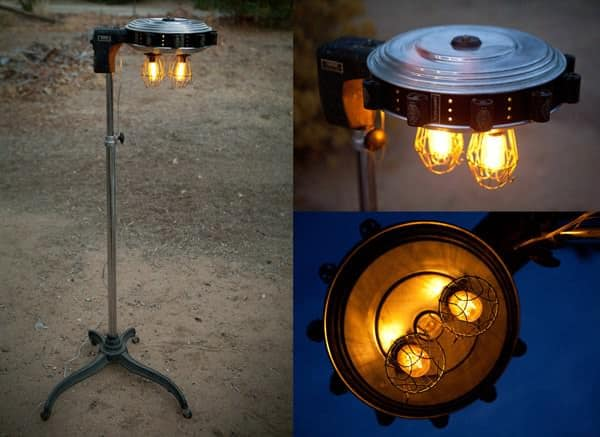 1930s Bonat Hair Dryer Curler Lamp Lamps & Lights