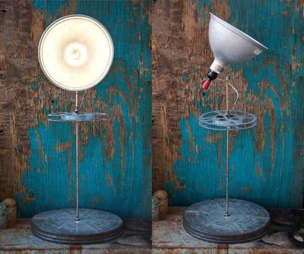 Hollywood Reel Upcycled Lamp Lamps & Lights