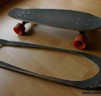 Reused skateboard deck