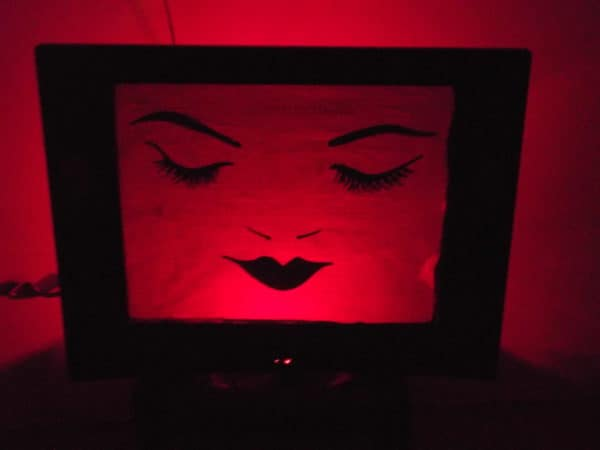Tv Screen Lampshade Lamps & Lights Recycled Electronic Waste