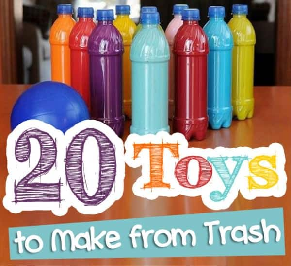 20 Toys To Make From Trash! Recycled Plastic