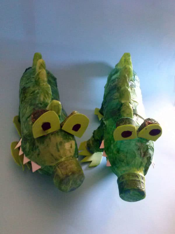 Plastic Bottles Crocodiles Do-It-Yourself Ideas