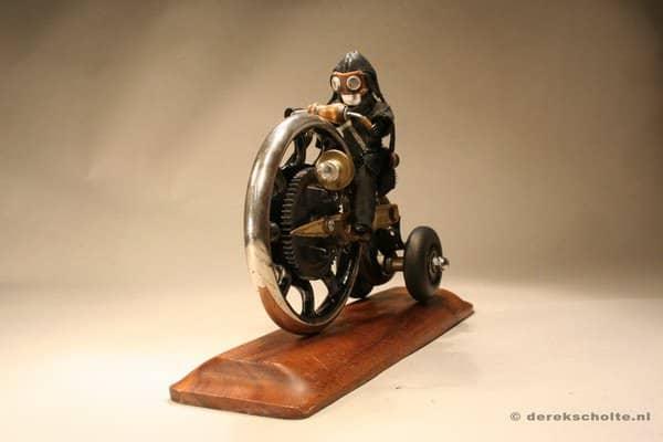 Junkart Objects by Derek Scholte Recycled Art