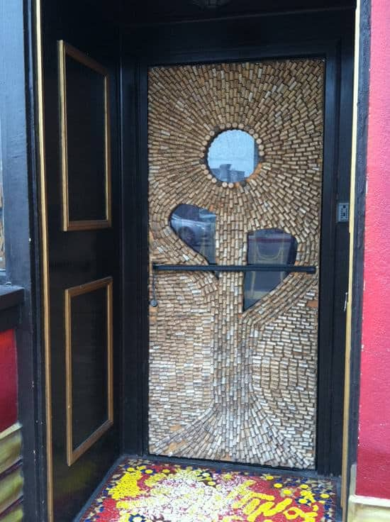 Corks Door Home Improvement Recycled Cork