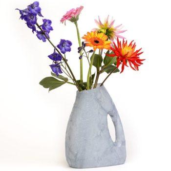 Detergent bottles flowers vases