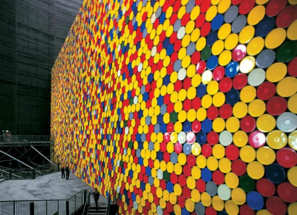 13000 Oil Barrels Installation Interactive, Happening & Street Art Recycled Art Recycling Metal