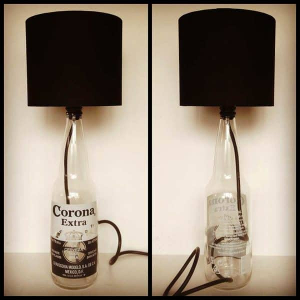 Corona Bottle Lamp Do-It-Yourself Ideas Lamps & Lights