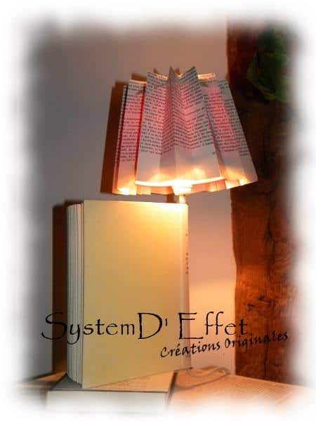 Book Light Lamps & Lights Recycling Paper & Books