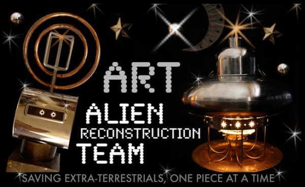 Art-alien Reconstruction Team! Recycled Art