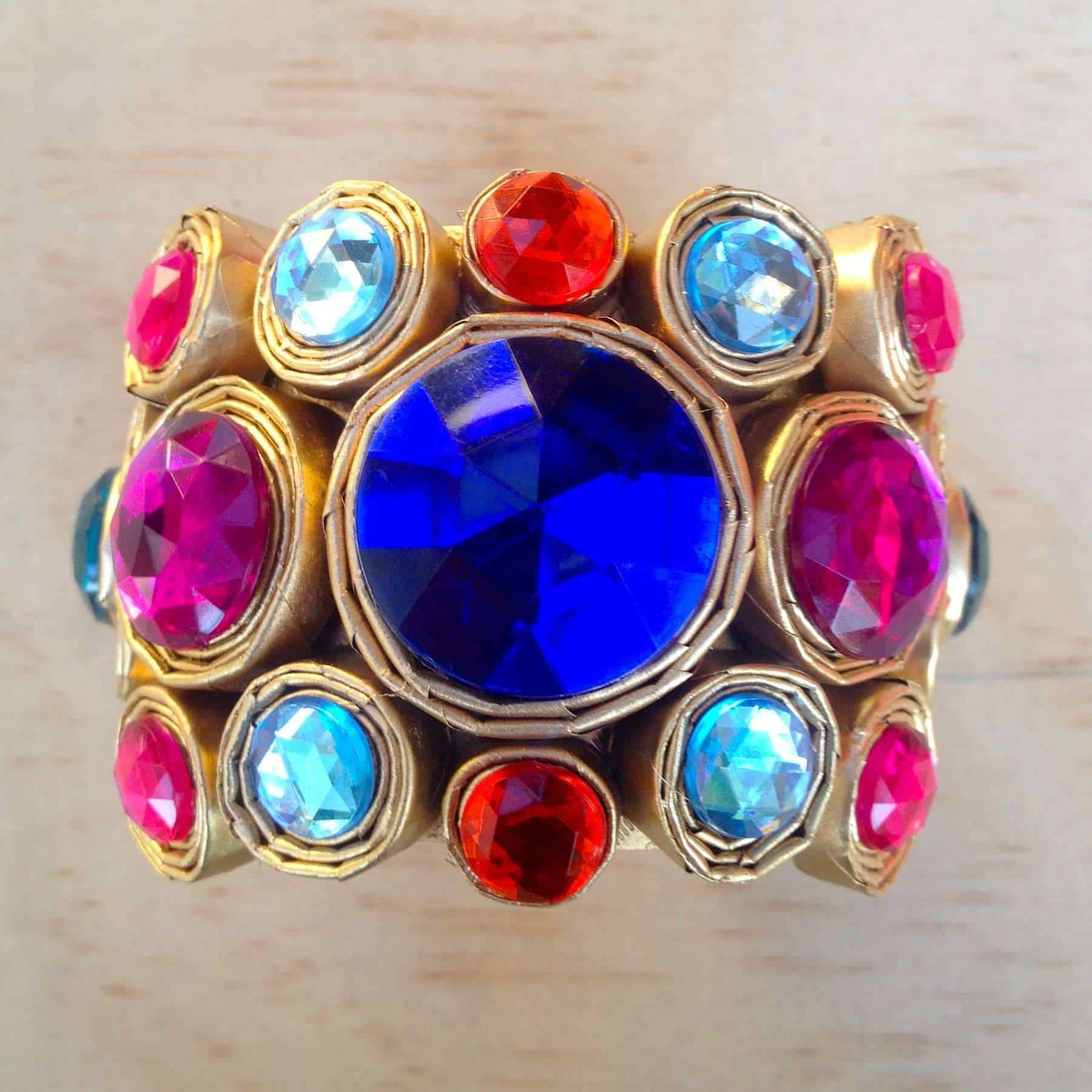 80\'s Inspired Paper Jewelry • Recyclart