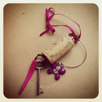 Upcycled Cork Charms
