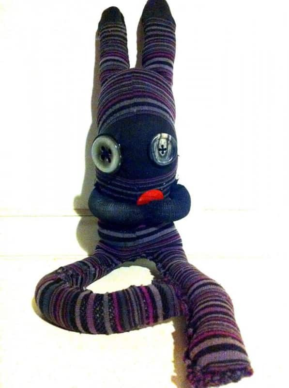 Monster Socks Clothing Do-It-Yourself Ideas