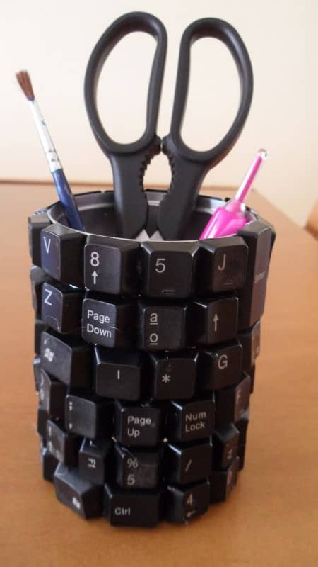 Upcycling Keyboard Accessories Recycled Electronic Waste