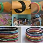 Recycled Plastic Bags Bracelets