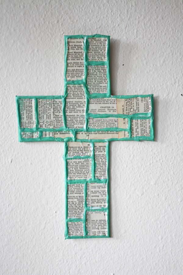 100 trash cross recyclart for Cardboard crosses for crafts