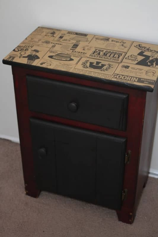 Vintage Dresser Nightstand Recycled Furniture