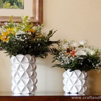Recycled cereal boxes