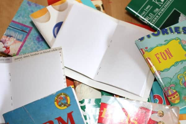 Recycled Scrap Note Books Recycling Paper & Books