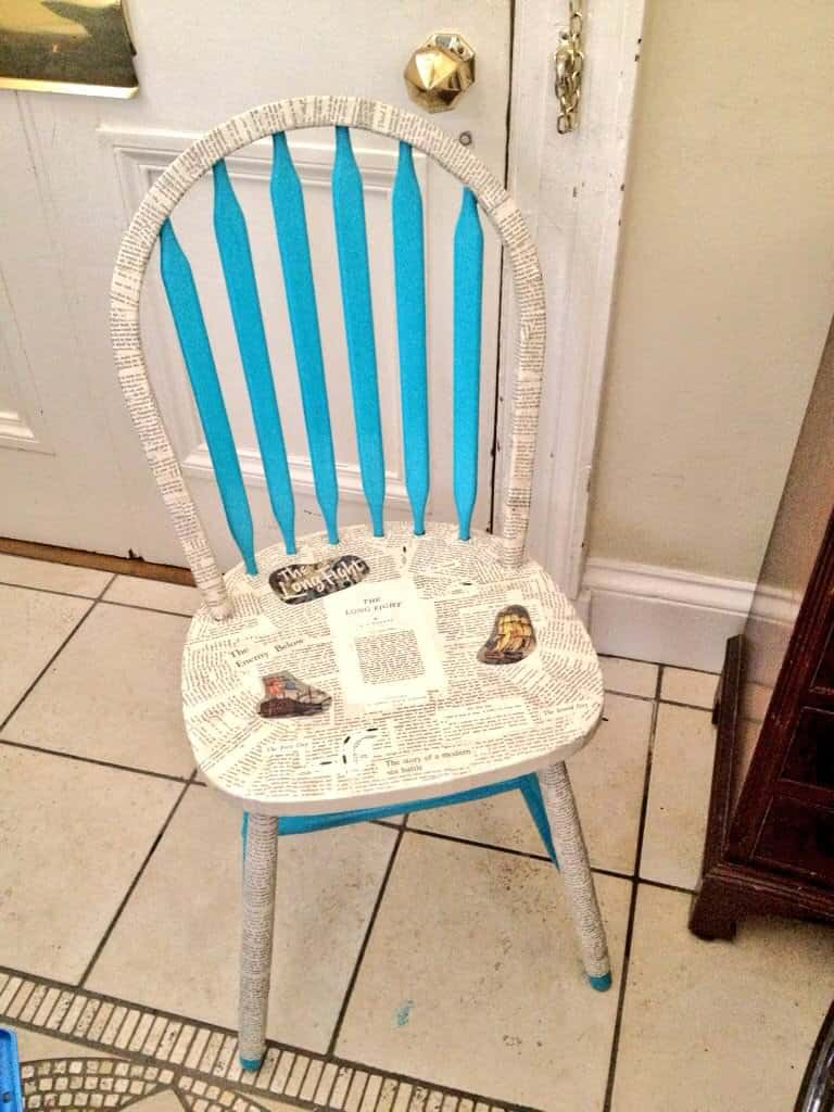 Reading Chair • Recyclart