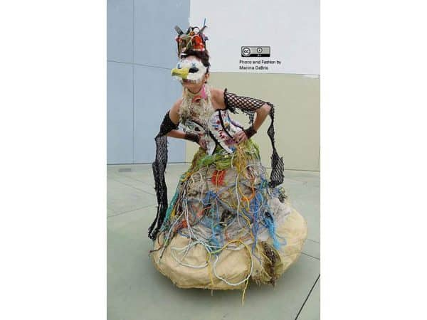 Castaway Dress Clothing Recycled Art