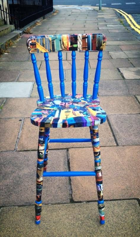 Upcycled Chair Recycled Furniture