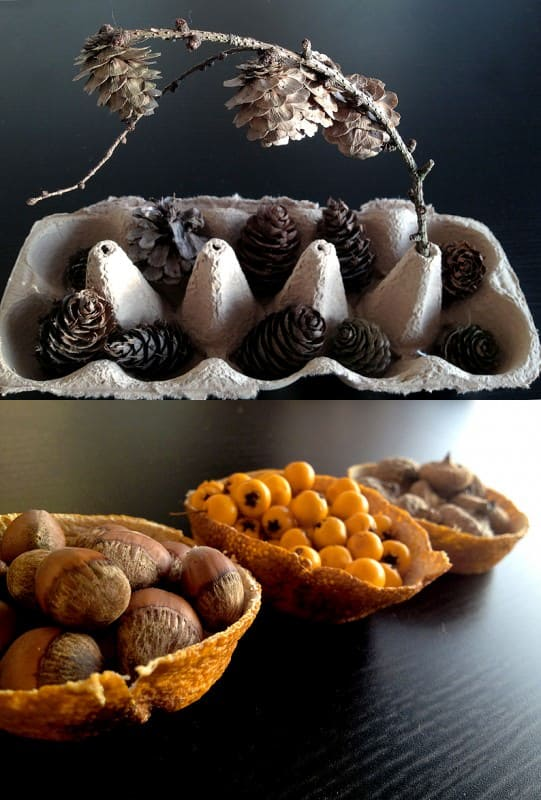 Autumn-like Table Center Deco Accessories Do-It-Yourself Ideas