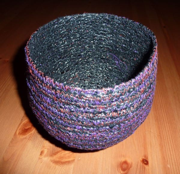 Recycled Video Tape Bowls Accessories