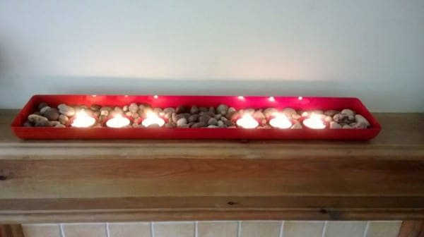 Oven Front Candle Holder Accessories Do-It-Yourself Ideas