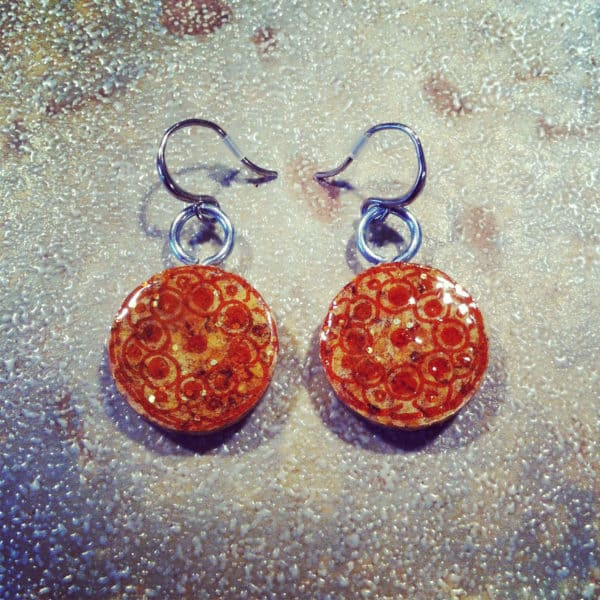 Wine Cork Earrings Recycled Cork Upcycled Jewelry Ideas