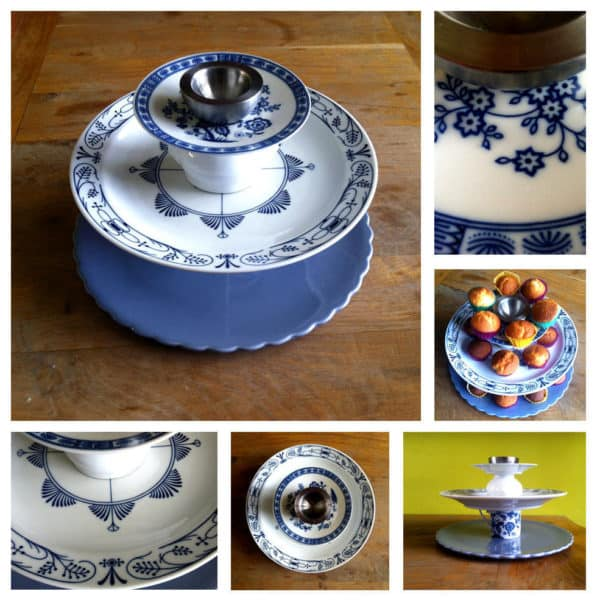 Upcycled Cake Stand Accessories