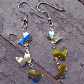How to Make Recycled Aluminum Can Earrings