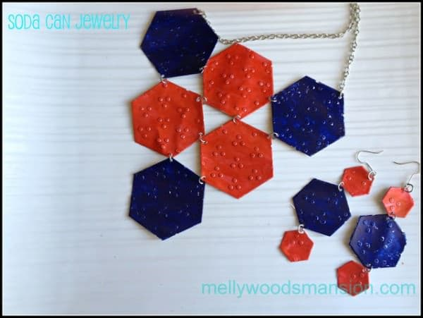 Soda Can Jewelry Upcycled Jewelry Ideas