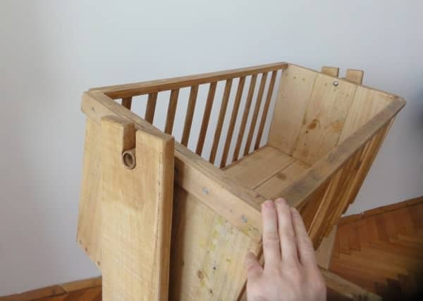 Cradle From Pallet Wood Recyclart