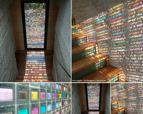 500 Repurposed Photo Slides for Pantone Lights Lamps & Lights Recycled Plastic