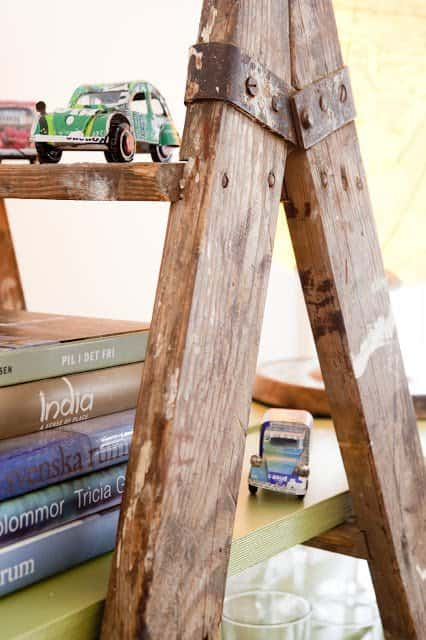 Ladder Bookshelves Recycled Furniture