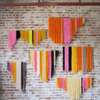 Wool wall art