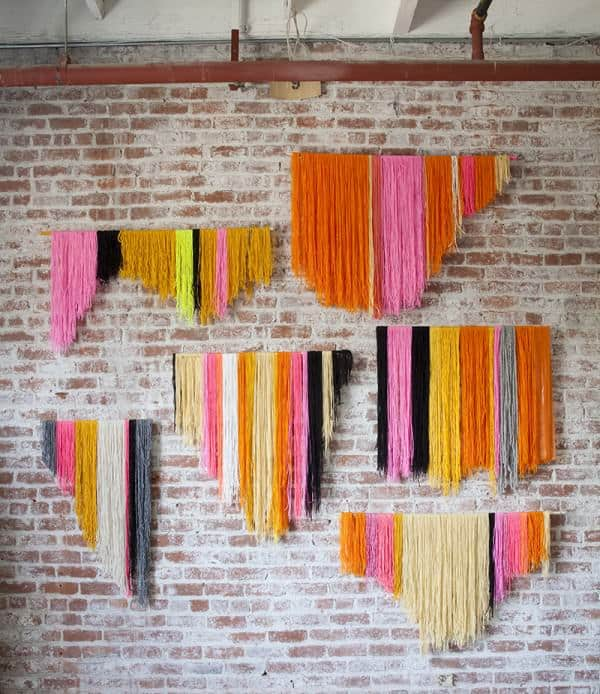 Wool Wall Art Clothing Do-It-Yourself Ideas