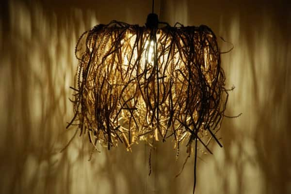 Cardboard Lamps by Mhoz Recycled Cardboard
