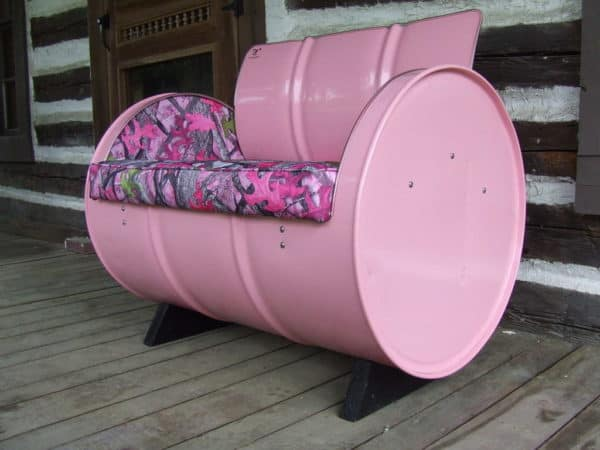 55-gallon Steel Drums Upcycled Into Furniture Recycled Furniture