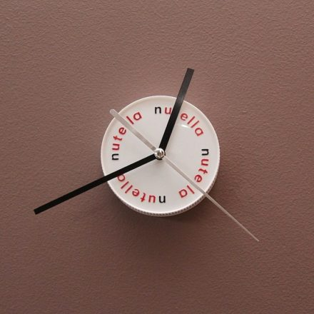 Nutella Clock