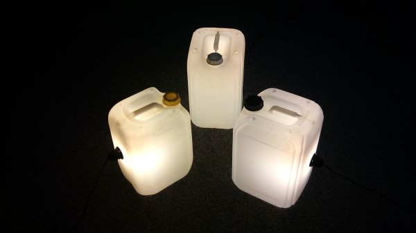 Upcycled Jerrycan Lamps Lamps & Lights Recycled Plastic