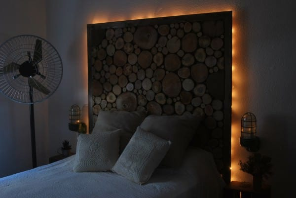 Tree Headboard Recycled Furniture Wood & Organic
