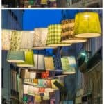 Paris Deco Off: Repurposed Lampshades In The Street