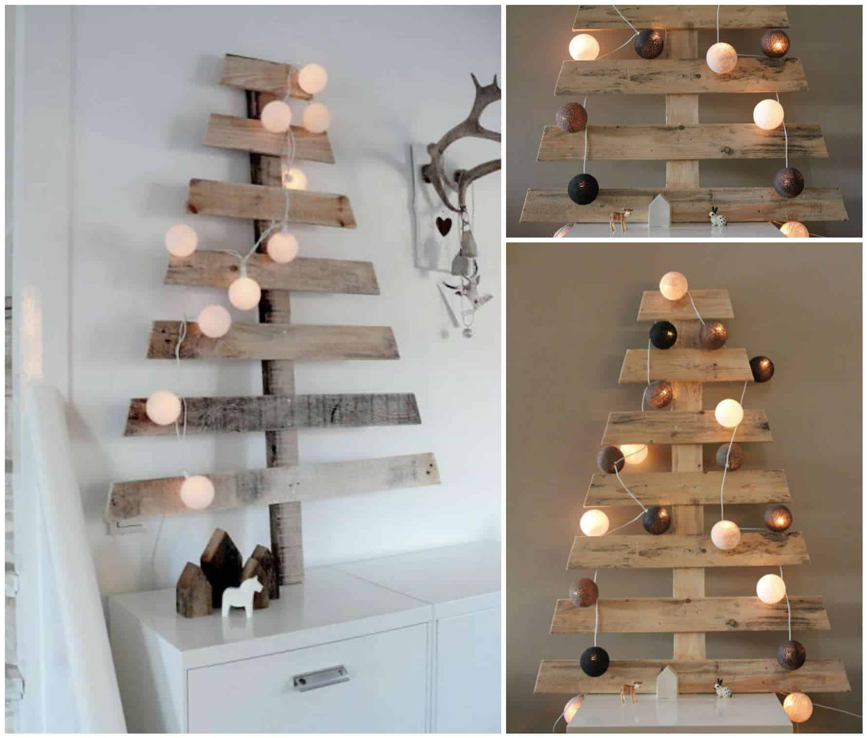 Chic Pallet Christmas Tree • Recyclart
