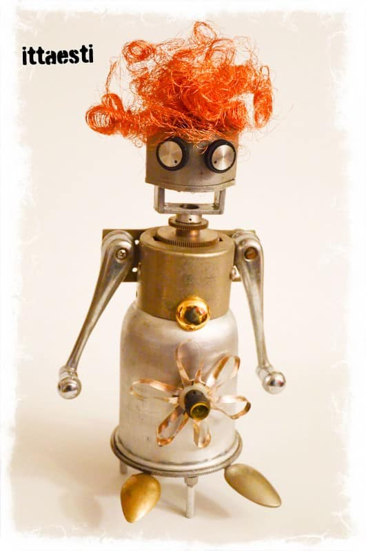 Ittaesti Robot Sculptures Recycled Art