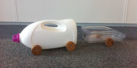Laundry Detergent-truck with Trailer