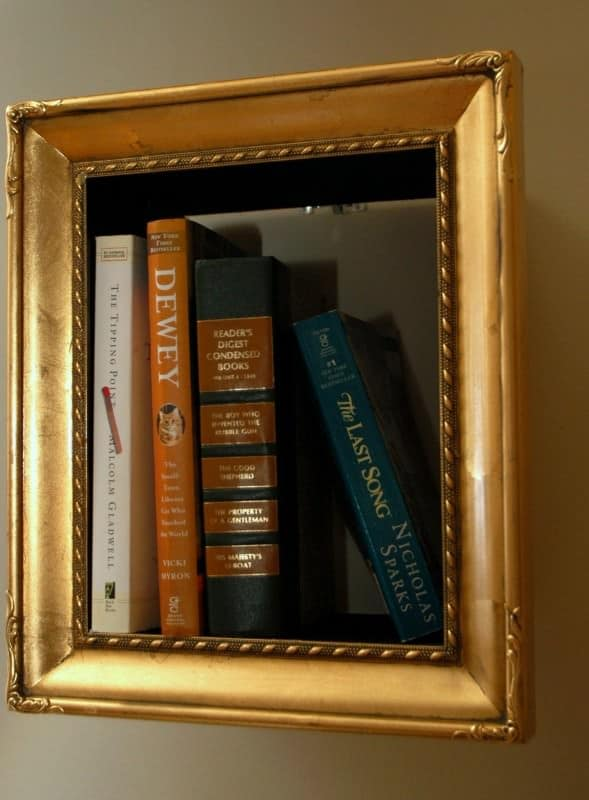 Photoframe Bookshelves Recycled Furniture
