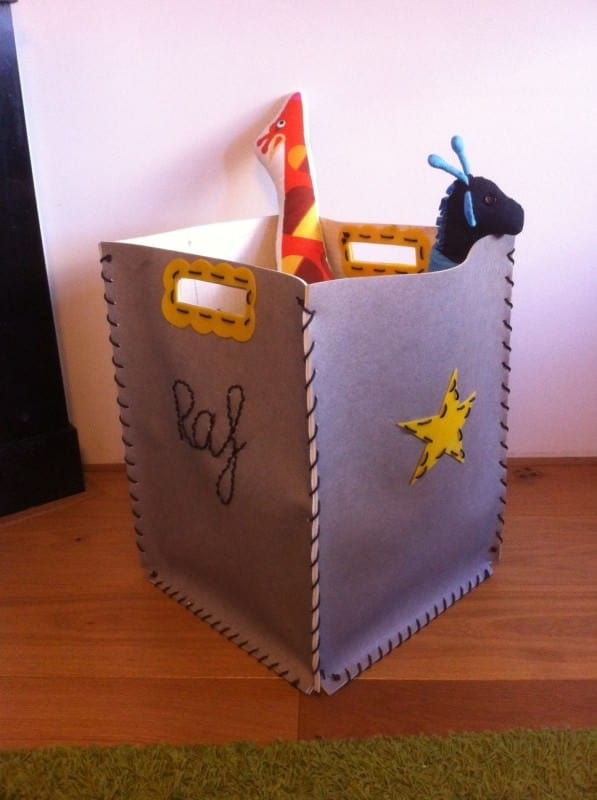 Bag for Toys Do-It-Yourself Ideas