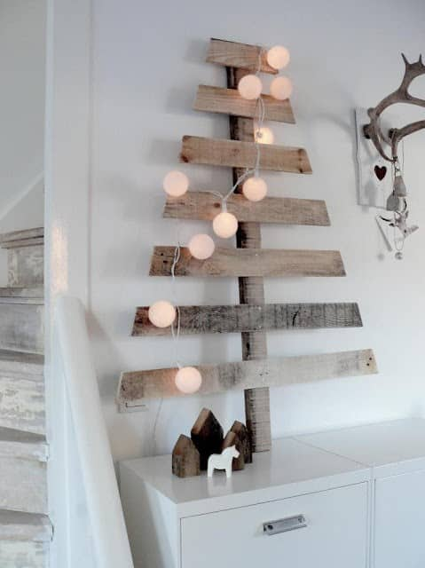 Chic Pallet Christmas Tree Recycled Pallets